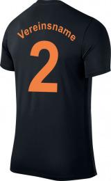 Flockservice_T-Shirt_Rucken_Vere insname_Nummer