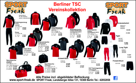 Flyer BerlinerTSCFußball2019