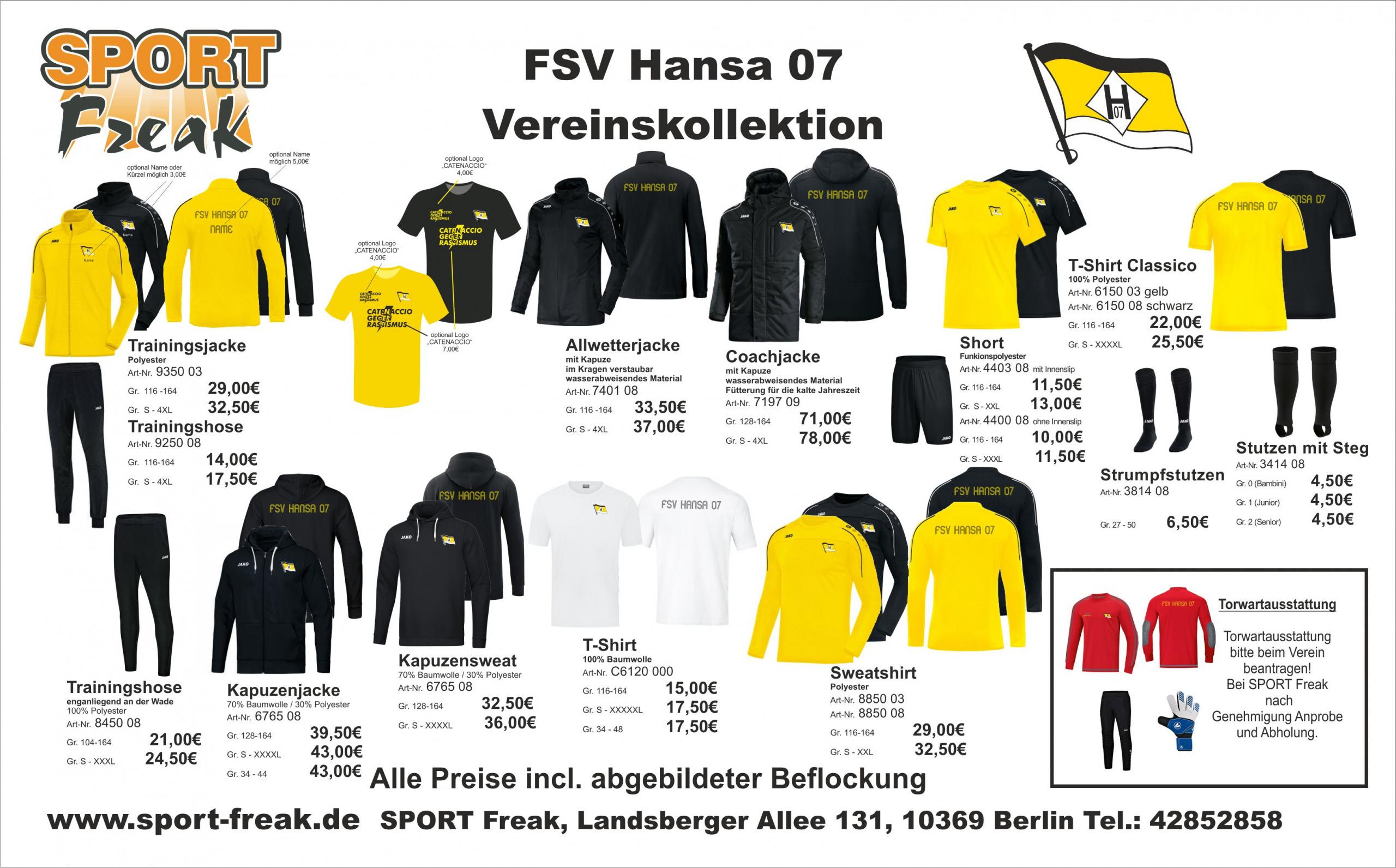 Flyer SFV Hansa 07