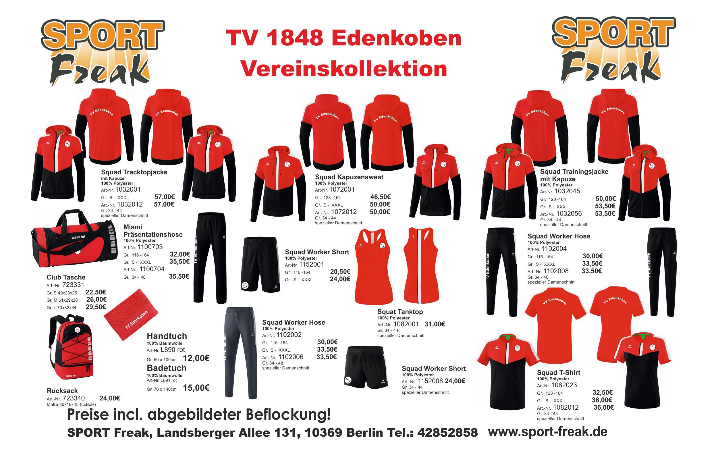 Flyer TV Edenkoben 1848