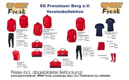 SG Prenzlauer Berg Flyer