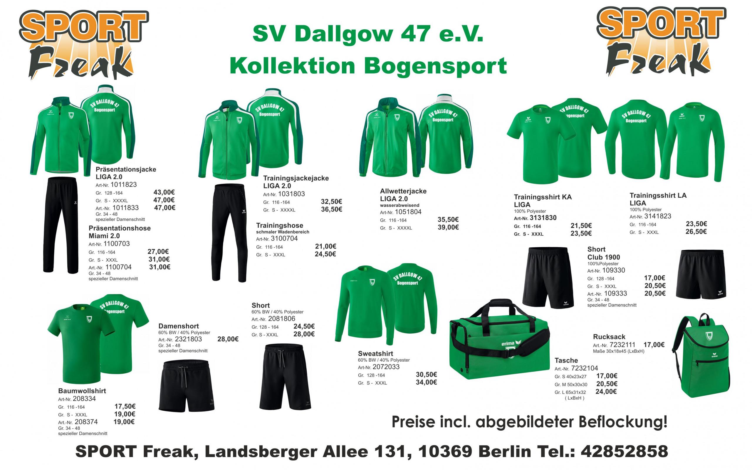 SV DALLGOW 47 Flyer
