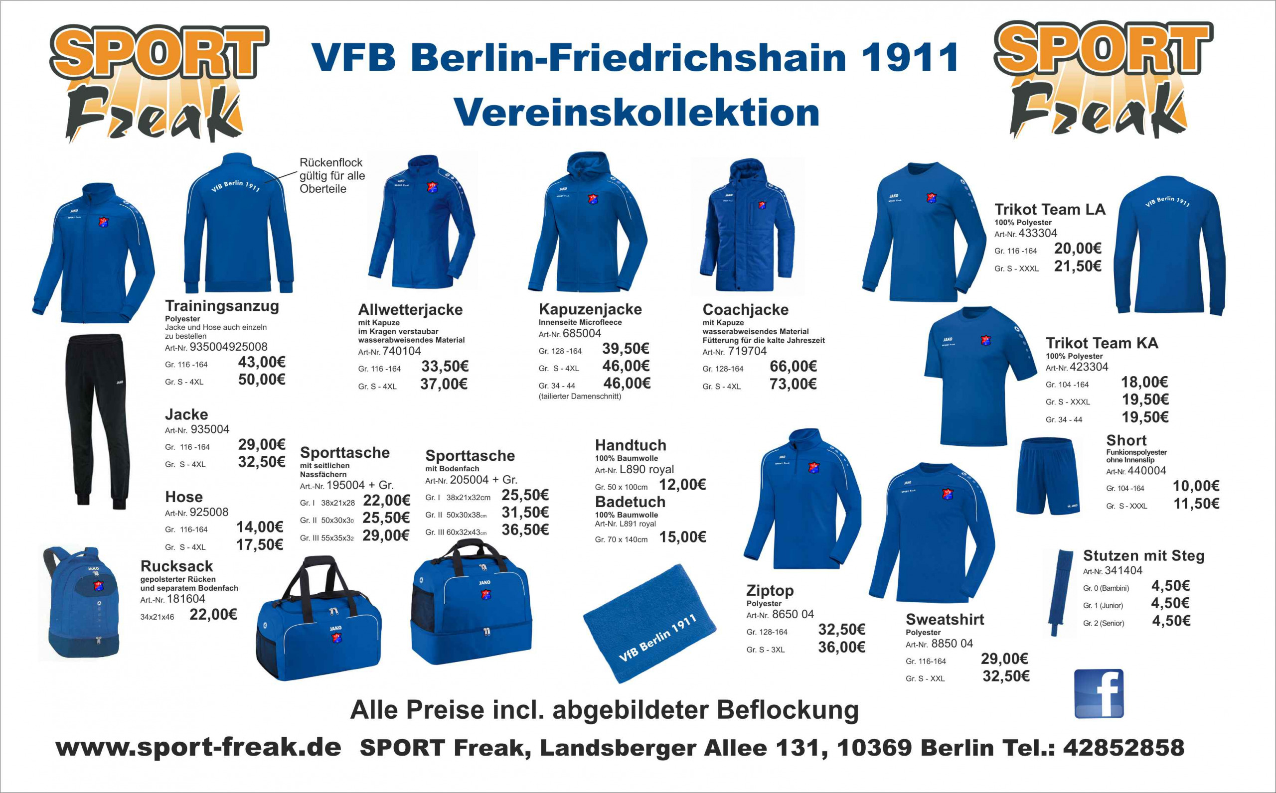 VFBFriedrichshainFlyerStriker2021